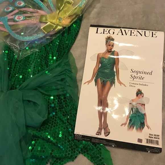 Legs Avenue Dresses Tinkerbell Halloween Costume Poshmark