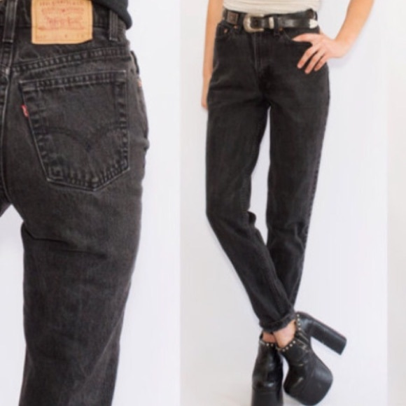 Vintage Jeans Waisted Levi's Levi Poshmark High Mom Ripped 7PxHqU