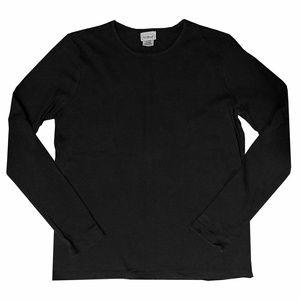 L.L. Bean Black Long Sleeve Top