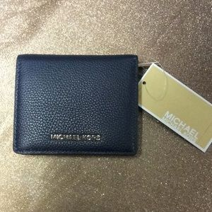 Michael Kors Mercer Carry All Leather Card Case