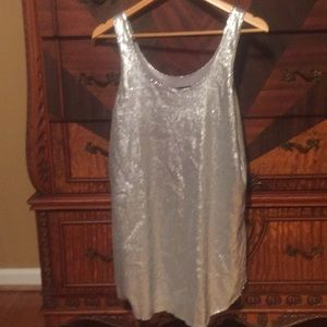 Zara sequin New Years dress