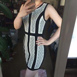 Dresses & Skirts - ❤️Aniina Black Dress with White Lace final price