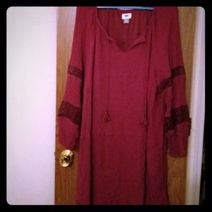 Long-sleeve Old Navy Dress