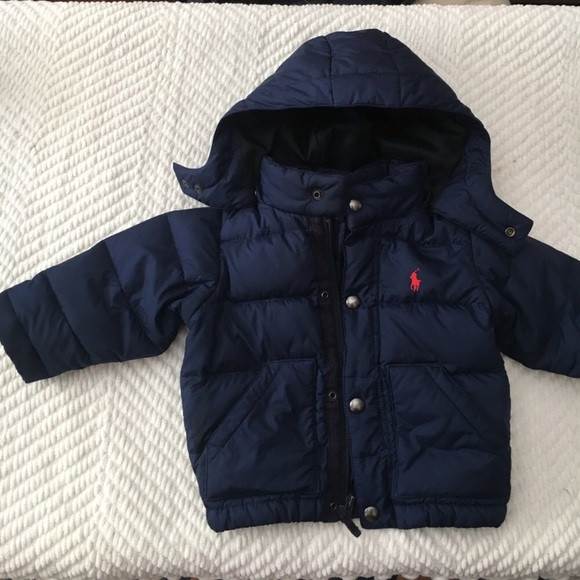 select for authentic buy sale usa online Polo by Ralph Lauren toddler boy puffer jacket 12M