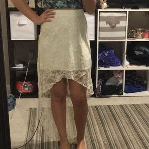 Rue 21 size small high low skirt