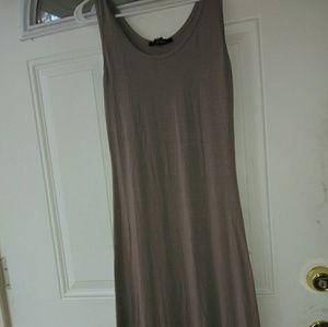 Tan Maxi Dress