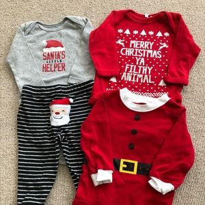 Baby boy Christmas bundle - 9 months