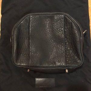 Alexander Wang Black Clutch Toiletry Makeup Bag