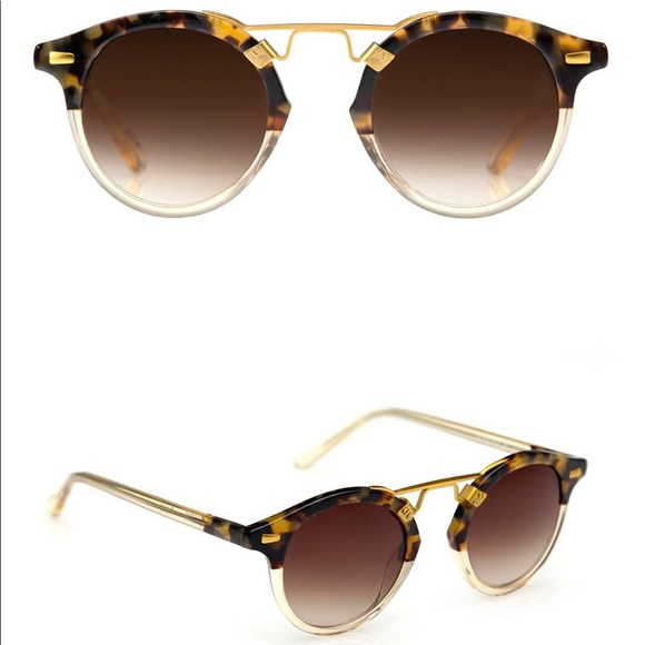 1fee9e8731 krewe Accessories - Krewe St. Louis Blonde Tortoise to Champagne 24K