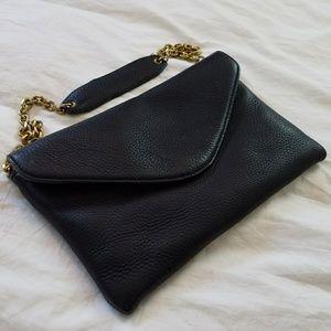J. CREW Leather Invitation Clutch