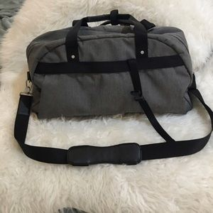 Lululemon grey gym bag
