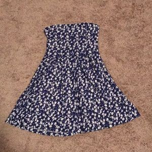UO cooperative strapless sundress small