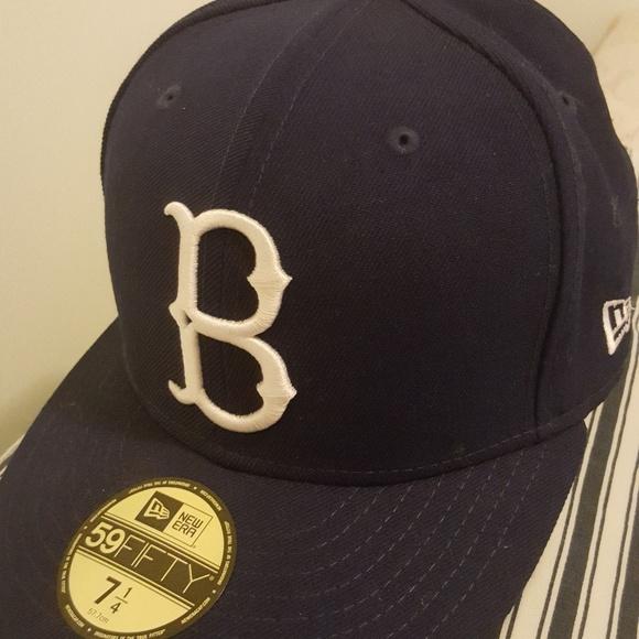 dcc7e3370b2e1 reduced brooklyn dodgers fitted hat new era 7e3cf 920b0