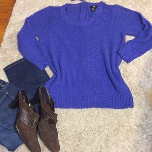 Cobalt Blue Sweater  H&M Size M