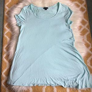 sky blue j. jill wearever top size XS