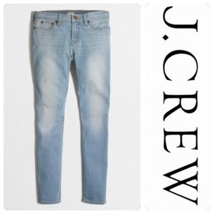 J. Crew Skinny Stretch Jean in Faded Wash