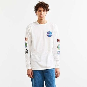 URBAN OUTFITTERS LOGIC LONG SLEEVE TEE