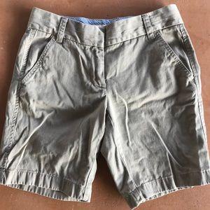 J. Crew Chino Bermuda Shorts