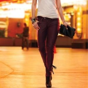 Rock & Republic Berlin Coated Red Jeans new