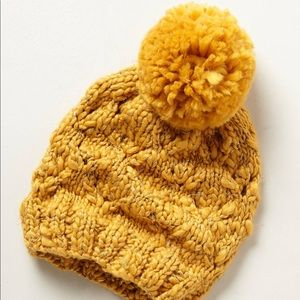 Anthropologie Steppe Knit Hat