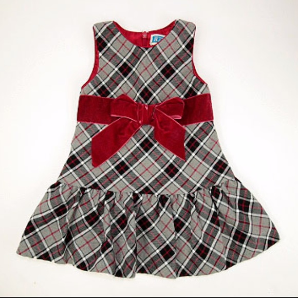 childrens place 2t plaid christmas dress