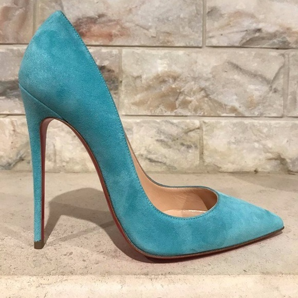 93977fda87c Christian Louboutin So Kate 120 Blue Source Suede
