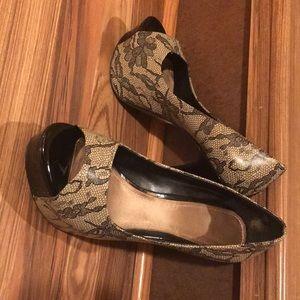 Aldo heels! Size 6 1/2, Euro 37
