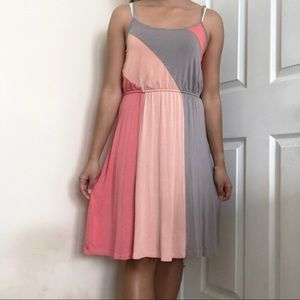 Cute color block dress