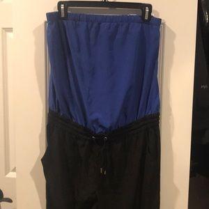 Express strapless pants jumper