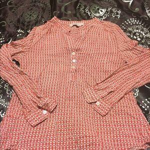 LOFT rayon shirt
