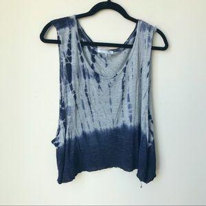 Tops - Tie Dye Muscle Cut Tank Top Boho Bohemian Shirt