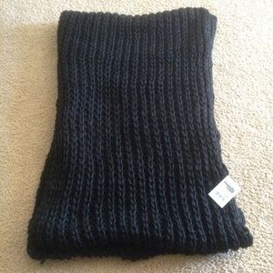 New Long Black Cable Knit Sweater