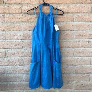 NWT Jessica Simpson Blue Dress with Pockets