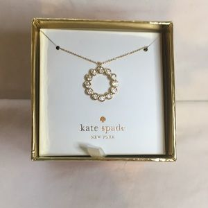 Kate Spade Gold Necklace NIB