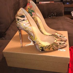 Authentic Christian Louboutin size 39.5