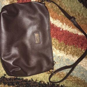 Chocolate brown BCBG shoulder bag