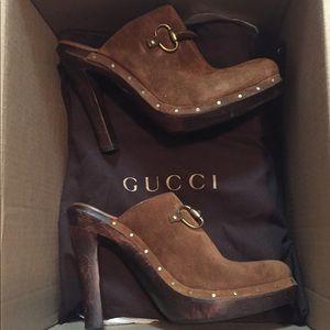 Authentic Gucci clogs