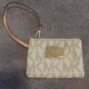 Michael Kors mini clutch wallet