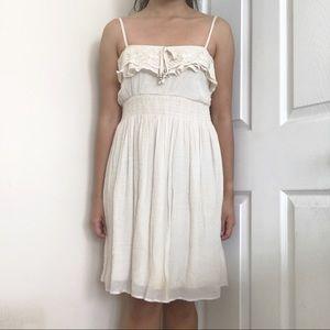 Cute cream country dress