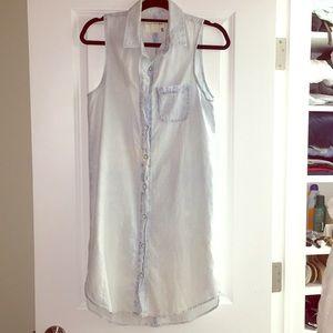 Rag & bone denim dress small