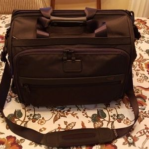 Tumi Framed Soft Duffel unused