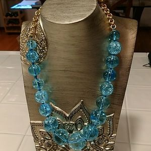 Kate Spade Turquoise Crackle Bead Necklace