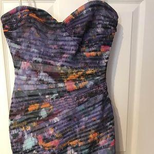 Bcbg strapless mini dress