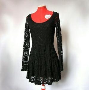 Dillema Black Lace Dress, Little Black Dress