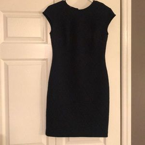 Donna Morgan never worn navy dress