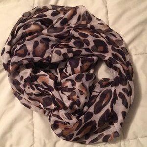 Cheetah print Infiniti scarf