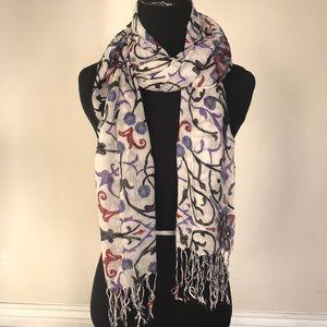 Cute printed scarf/wrap