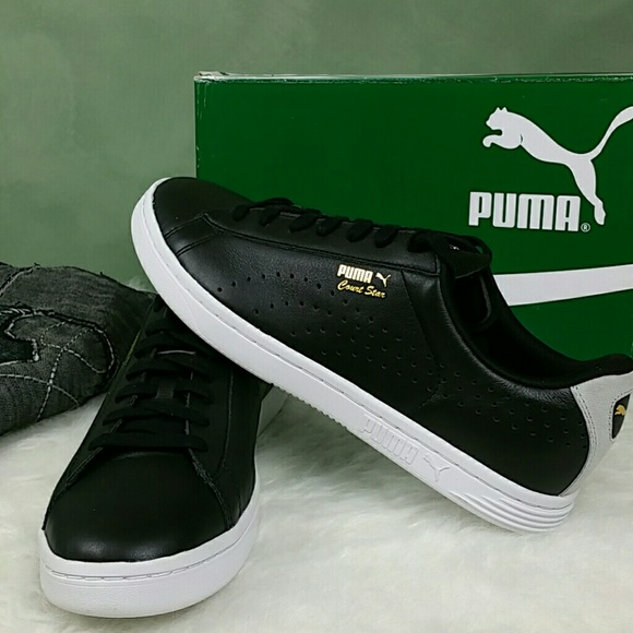 21d3631fa97e  PUMA  Men s Court Star Crafted Leather Seacker