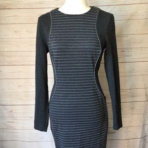 Spense Illusion Midi sheath dress