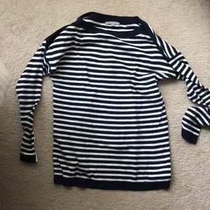 Gap navy stripe sweater size S